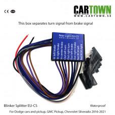 Blinker Splitter EU-C LFOD Dodge GMC, Bulb
