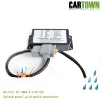 Blinker Splitter CTX SPQC 4.6 LFOD SplashProof, connector 1pcs