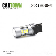 LED lamp 7440 T20 white CTX-system (10pcs )
