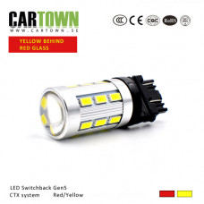 LED Switchback 3157/T25 Red/ / Yellow Gen5 (1pcs)