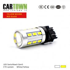 LED Switchback 3157/T25 white/yellow Gen5 (1pcs)