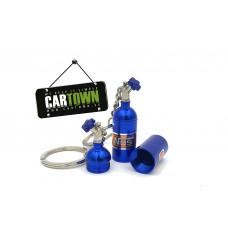 Keychain NOS bottle Blue 10 units