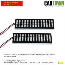 LED-Plates Yellow for inside lamp house (1pair/2pcs)