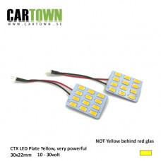 LED-Plates Yellow Mini (1pair/2pcs)