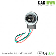 Lampsocket 3157 T25 universal 1pcs