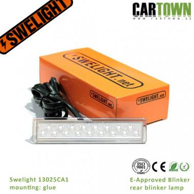 Swelight 13025CA1 clear blinker, glue (10pcs)