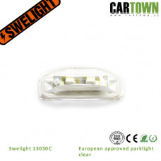 Swelight Park 13030C. E-marked Park lamp clear  (1pcs)