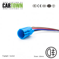 Socket for CTX foglightswitch 16mm, 10pcs